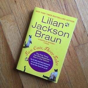 Two Cats, Three Tales by Lillian Jackson Braun.